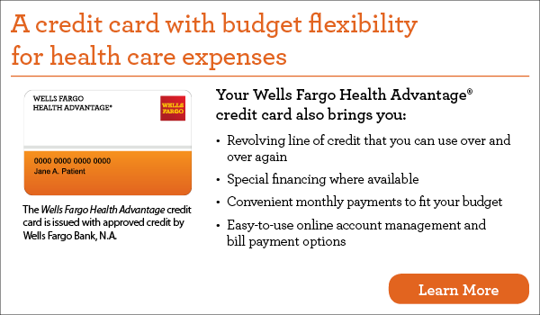 Wells Fargo Health Advantage Card